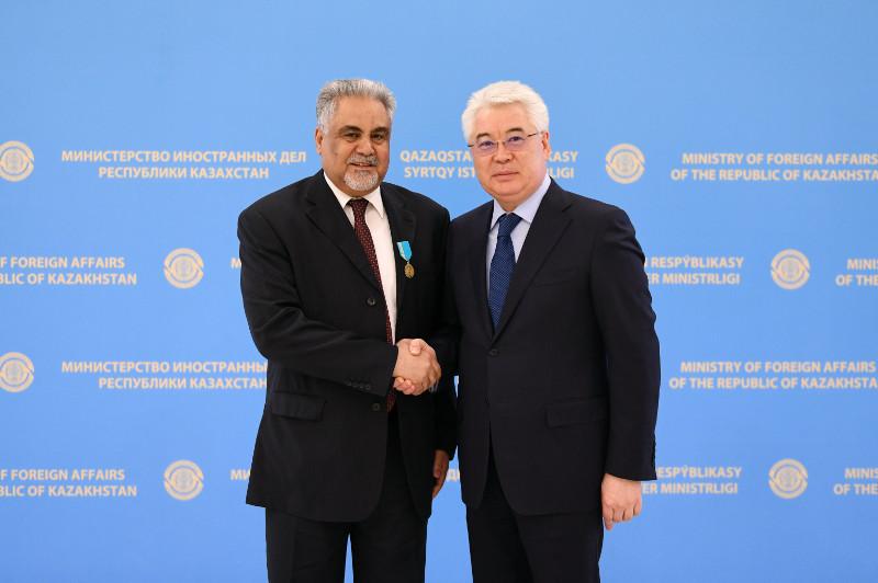 Глава МИД Казахстана принял посла Саудовской Аравии