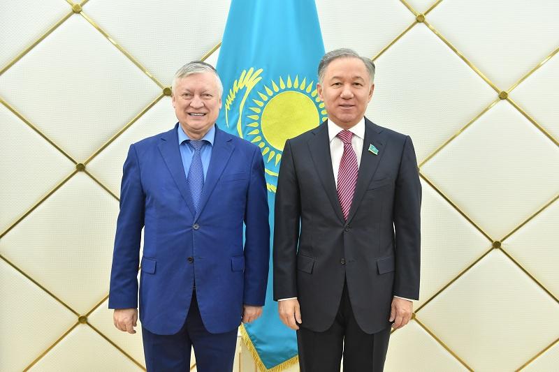 Majilis Speaker: Kazakhstan, Russia to deepen inter-parliamentary ties