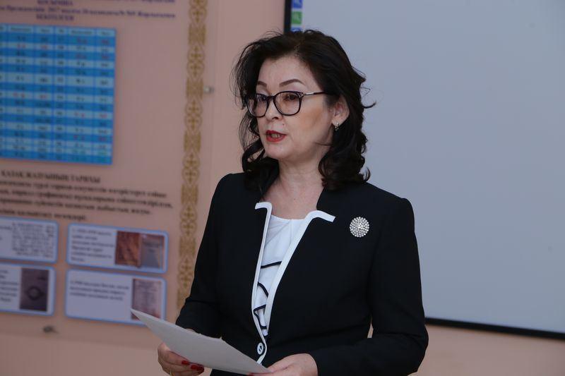 Кабинет казахского языка на основе латиницы открыли в Костанае