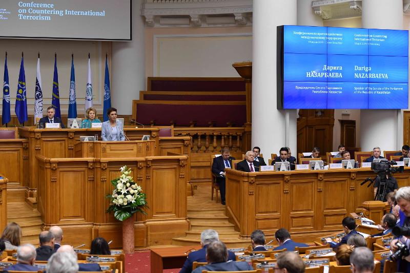 Dariga Nazarbayeva takes part in 2019 CIS IPA meeting