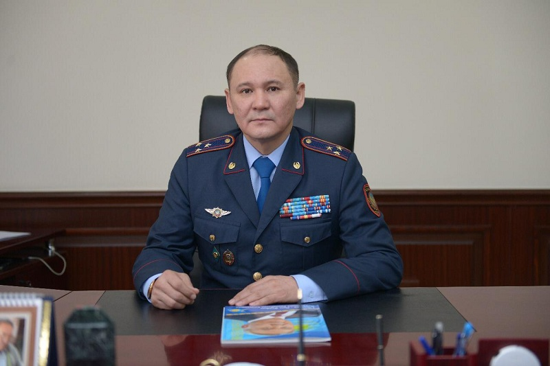 Қызылорда облысы полиция департаментіне жаңа басшы тағайындалды