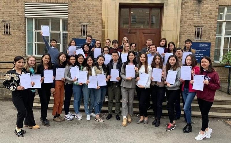 KazNU graduate students undergo research internships at Oxford University