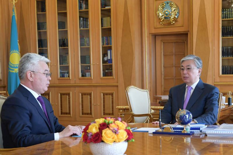 Президент РК обсудил с главой МИД график предстоящих визитов