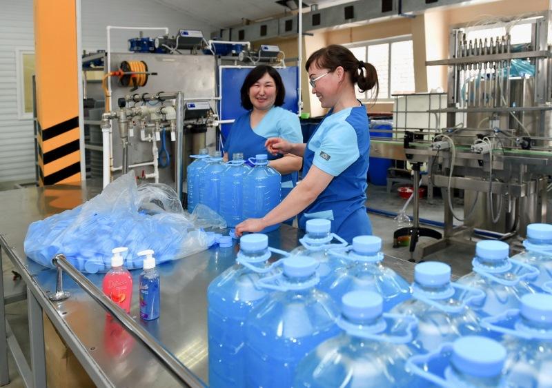 500 тонн мыла в месяц будут выпускать в Северном Казахстане