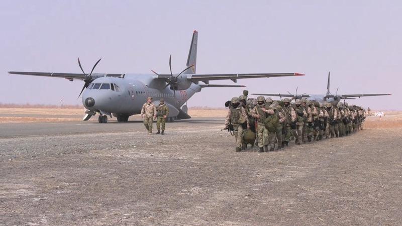 «Айбалта-2019»: проведены мероприятия по перегруппировке подразделений армейской авиации