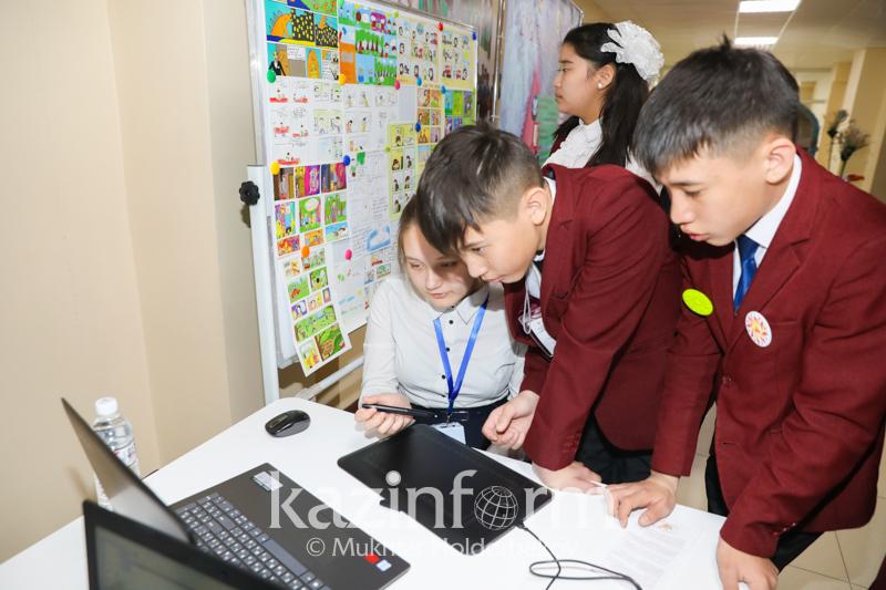 Что предлагают казахстанские школьники для решения проблем экологии
