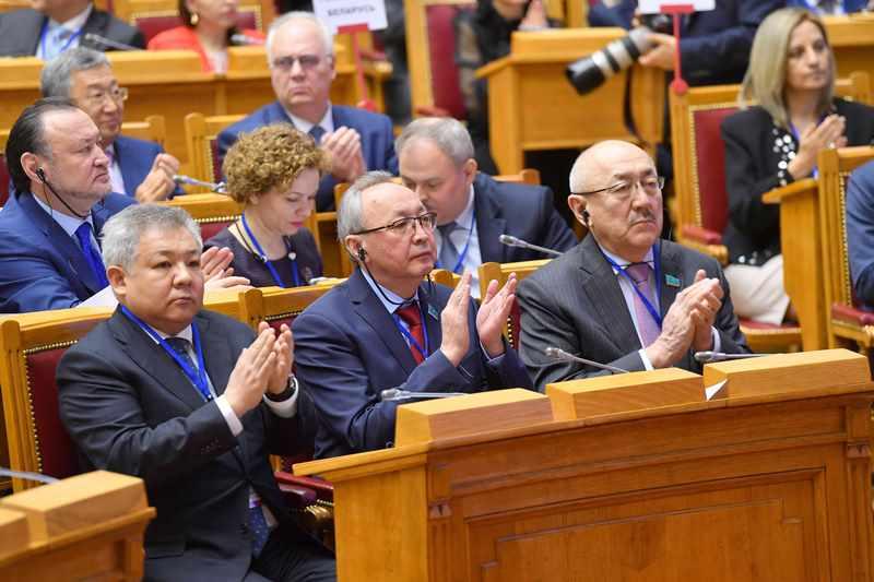 Kazakh Senate Speaker attends CIS IPA plenary sitting