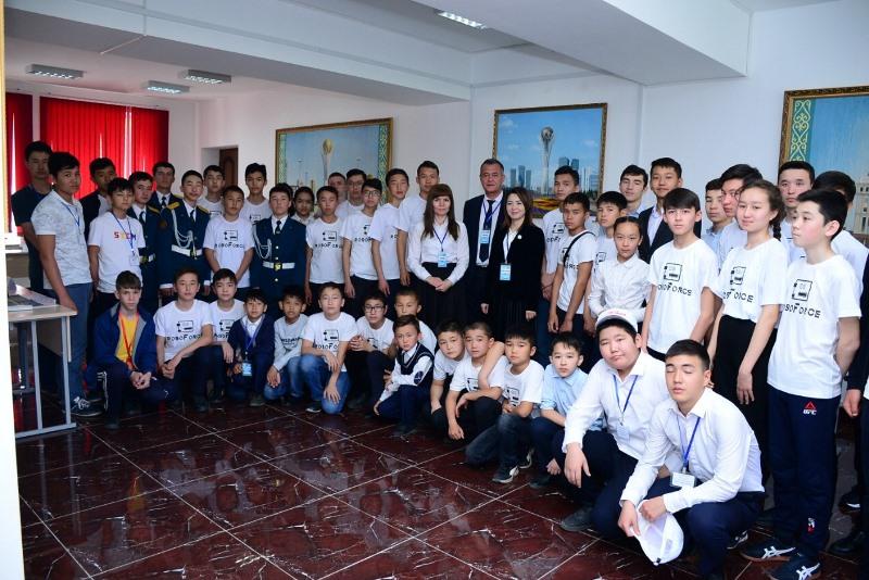 Жасулановцы стали победителями чемпионата по робототехнике