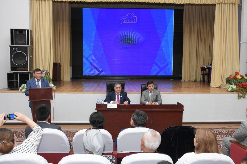 Түркістан облысында азаматтық секторды дамыту мәселелері талқыланды