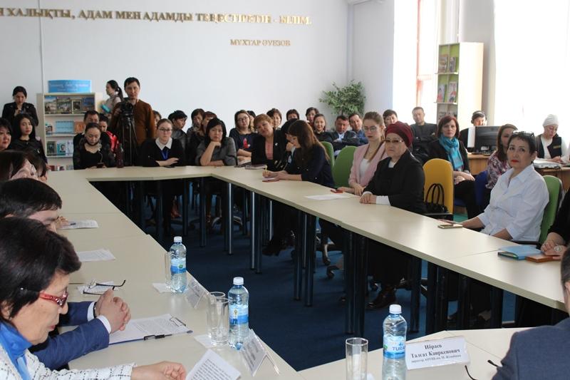 Акмолинская интеллигенция поддержала предстоящие выборы Президента