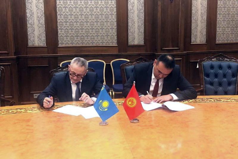 В Бишкеке состоялись казахстанско-кыргызские консульские консультации