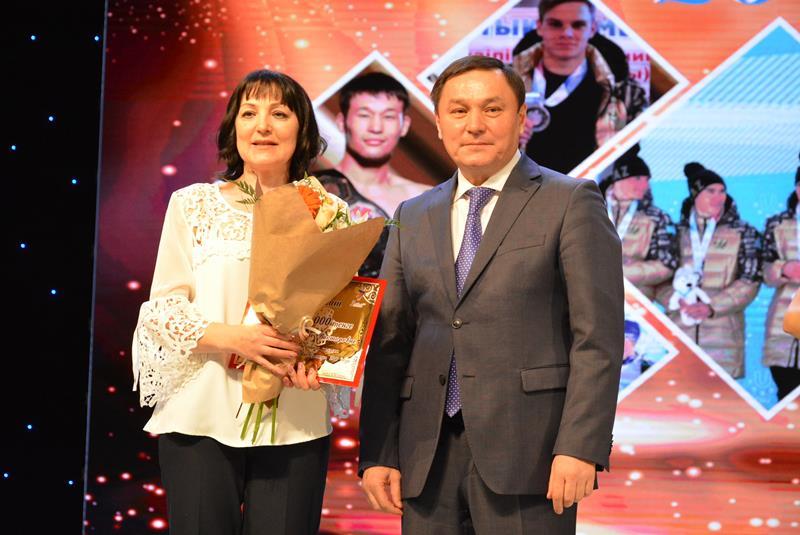 Лучших акмолинских спортсменов наградили премией имени Кажымукана