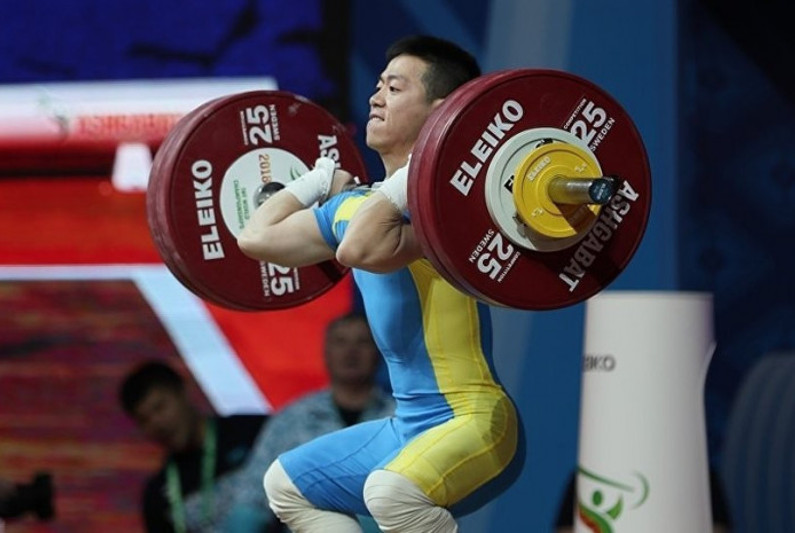 Kazakhstani Arli Chontei hauls bronze at Asian Weightlifting Championships