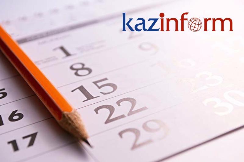 April 21. Kazinform's timeline of major events