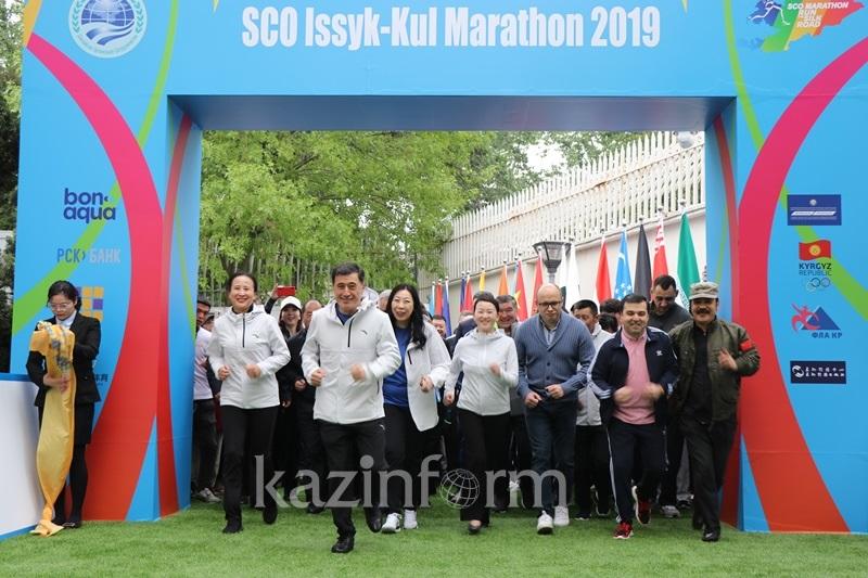 Марафоны ШОС пройдут в Кыргызстане и Китае