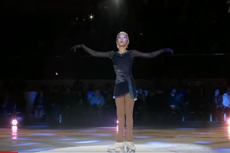 Элизабет Турсынбаева выступила в шоу «Чемпионы на льду»