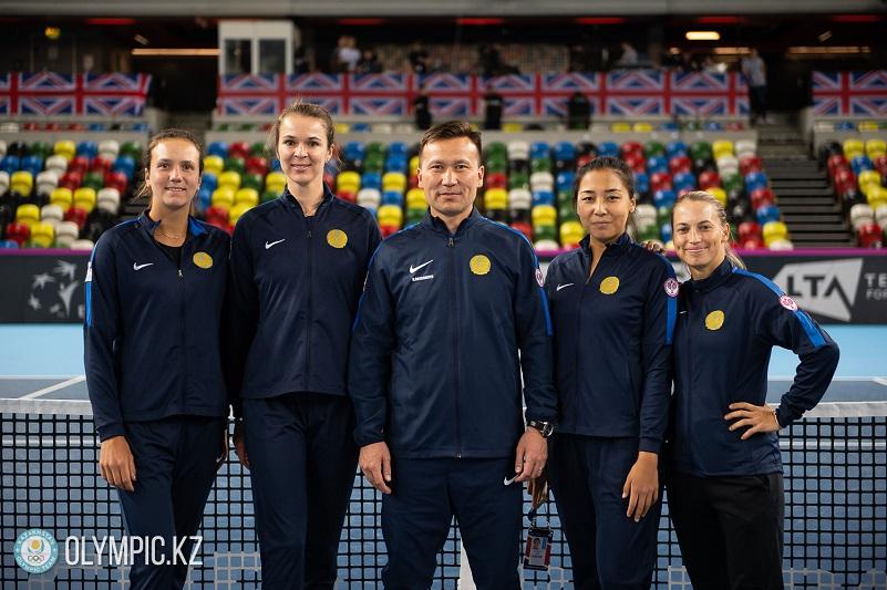 网球联合会杯:哈萨克斯坦首回合战平英国队