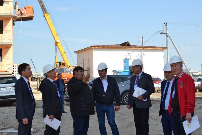 Удешевить строительство в Таразе предложили представители партии «Nur Otan»