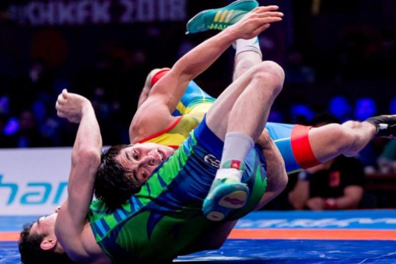 Армейские спортсмены примут участие в чемпионате Азии по вольной борьбе