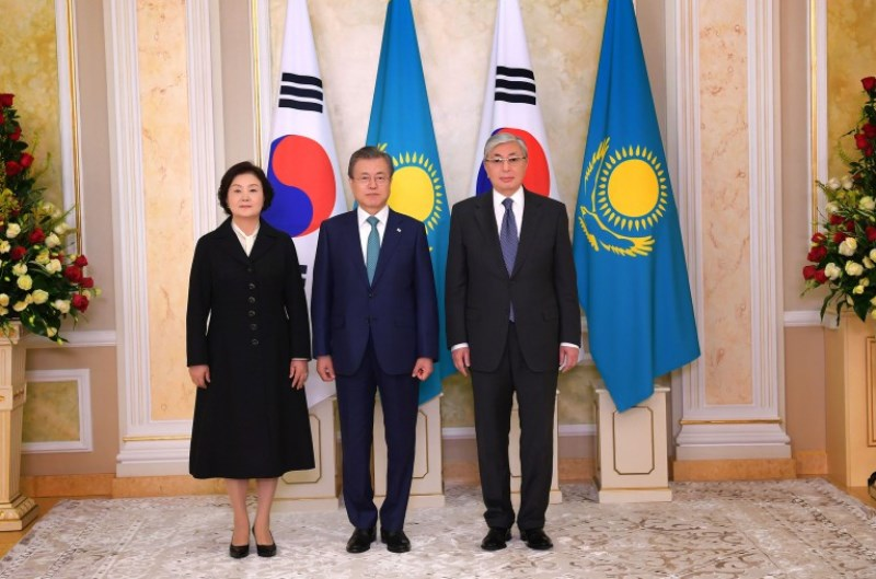 Қазақстан мен Корея Президенттері шаÒ