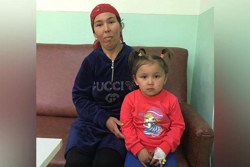 Утонувшую 4-летнюю девочку вернули к жизни в Туркестанской области