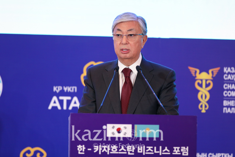 总统:哈萨克斯坦有意同韩国在先进技术领域展开合作