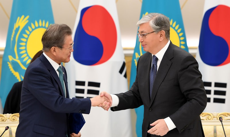 Kazakhstan, S Korea signed a number of documents