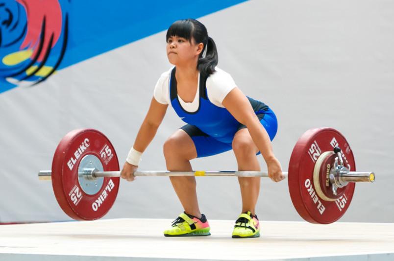 Зульфия Чиншанло стала четвертой на чемпионате Азии