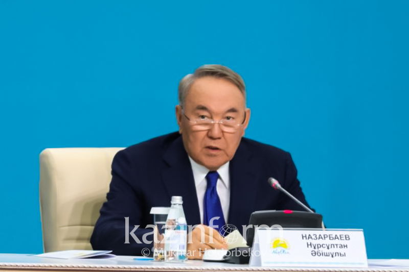 Сайлауда партияның беделі, оған деген халықтың сенімі көрінеді - Нұрсұлтан Назарбаев