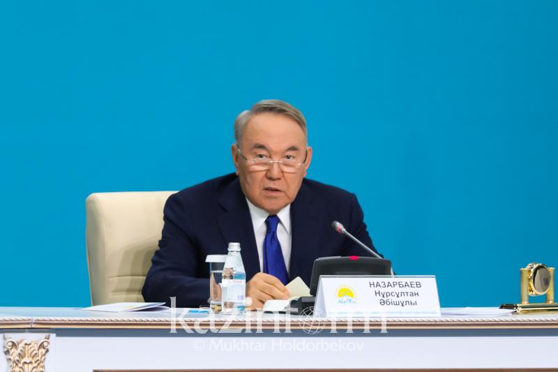 Мы продолжим наше дело по укреплению общественного согласия и единства нации - Нурсултан Назарбаев