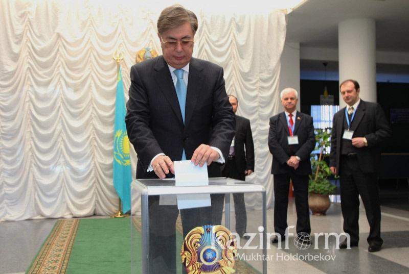 托卡耶夫:我将以候选人身份参加2019年总统选举
