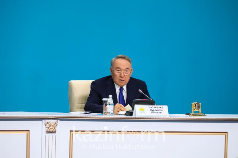Мемлекеттілікті мықты қолмен ұстау керек - Нұрсұлтан Назарбаев