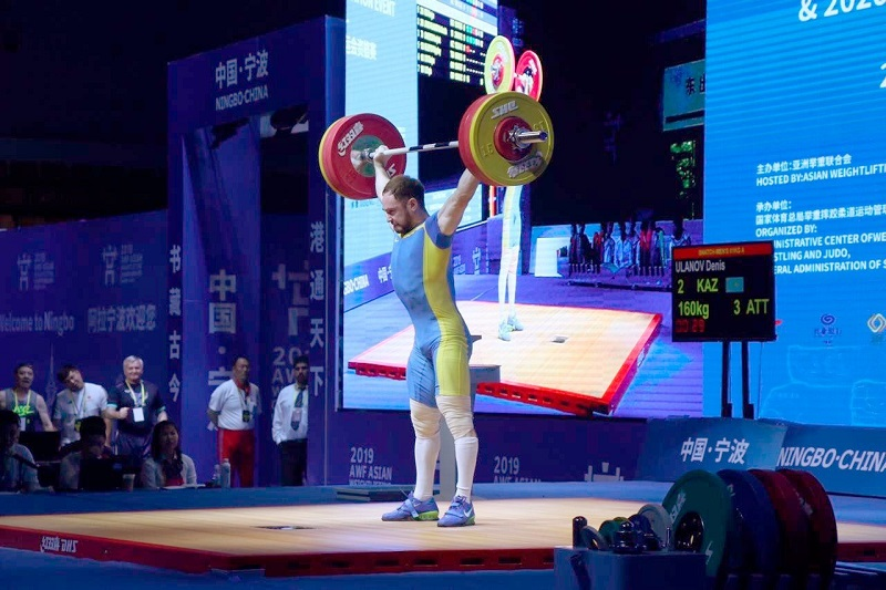 Kazakhstan bags bronze at Asian Weightlifting Championship