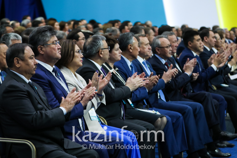 Нурсултан Назарбаев предложил кандидатуру Касым-Жомарта Токаева в качестве кандидата в Президенты от партии «Nur Otan»