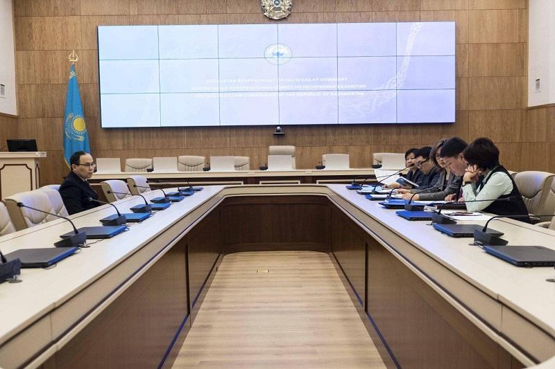Касым-Жомарт Токаев сдал документы в ЦИК о выдвижении кандидатом в Президенты РК