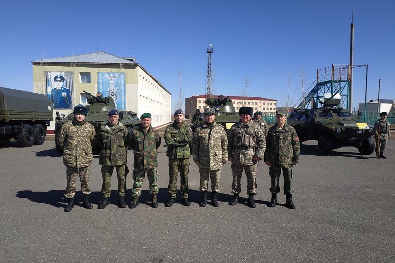 Инспекционные группы проверили ряд воинских частей