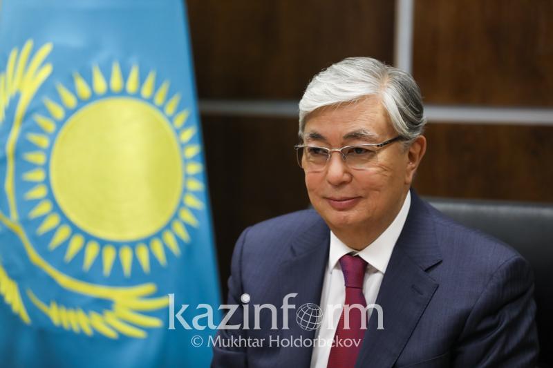 Касым-Жомарт Токаев сдает тест на знание госязыка
