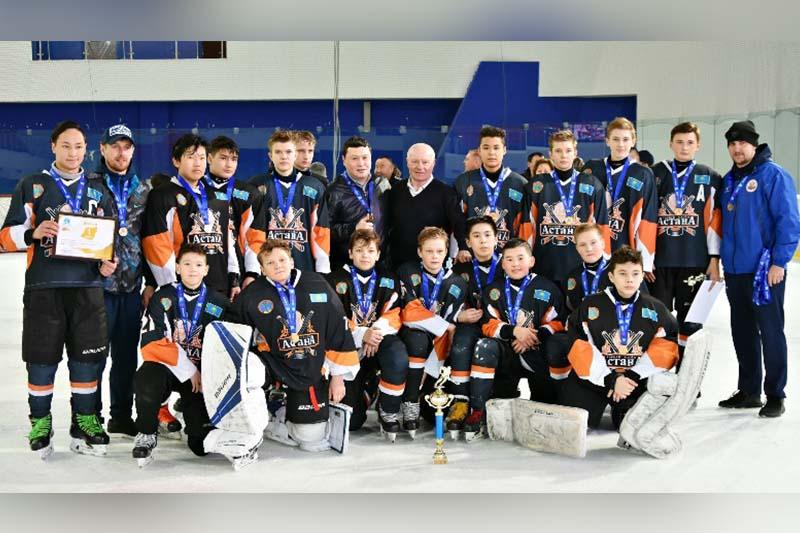 Хоккейная команда «Астана-2005» завоевала титул чемпиона Казахстана