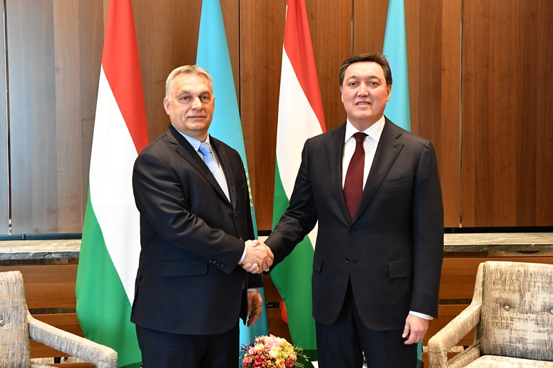 Kazakhstan, Hungary eye prospects of investment cooperation