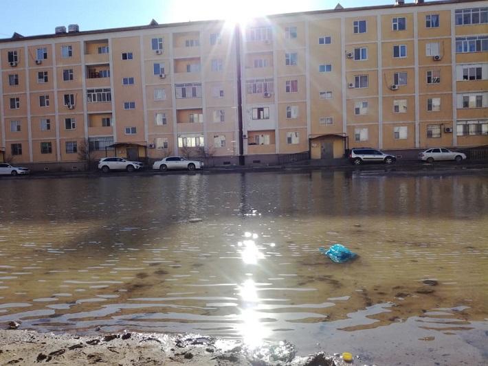 30 тысяч кубометров воды вывезено из Атырау