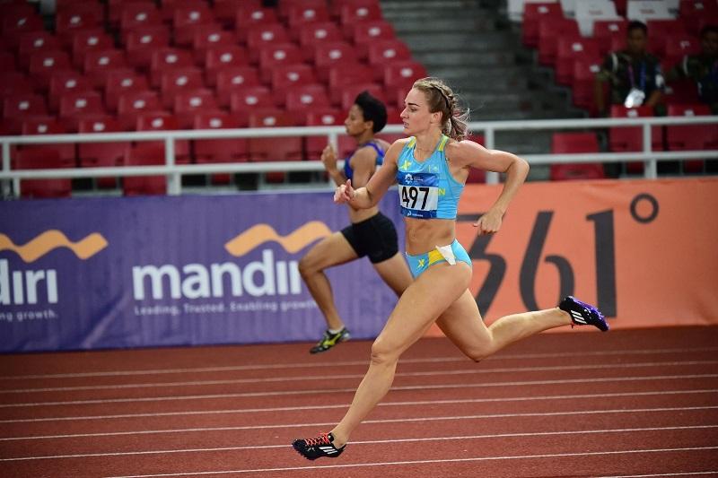 Казахстанки завоевали «серебро» в эстафете на ЧА по легкой атлетике