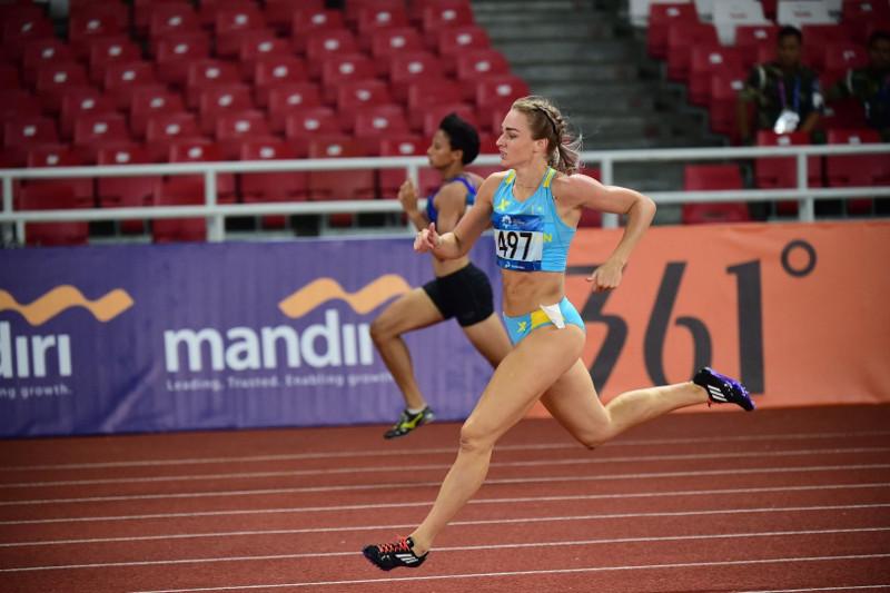 Қазақстанның әйелдер командасы эстафетадан Азия чемпионатында күміс медаль алды