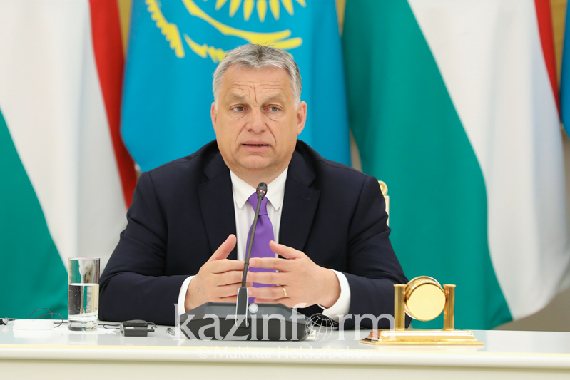 Hungarian PM wishes Kazakhstan successful 2019 presidential election