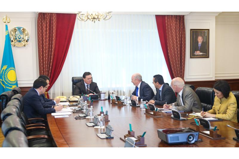 Kazakh PM, Royal Dutch Shell reps eye cooperation