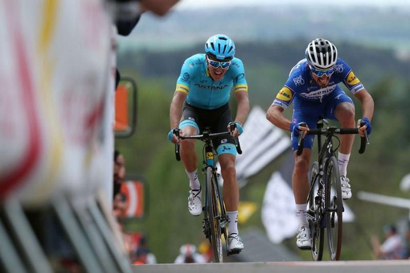 La Flèche Wallonne: Astana's Fuglsang claims second place atop Mur de Huy