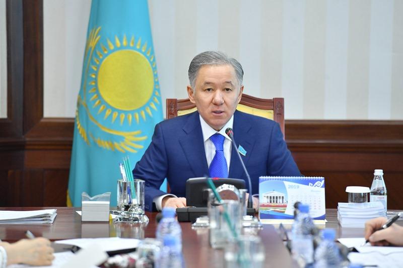 Majilis Speaker discusses arrangements for 4th Meeting of Eurasian Parliamentarians
