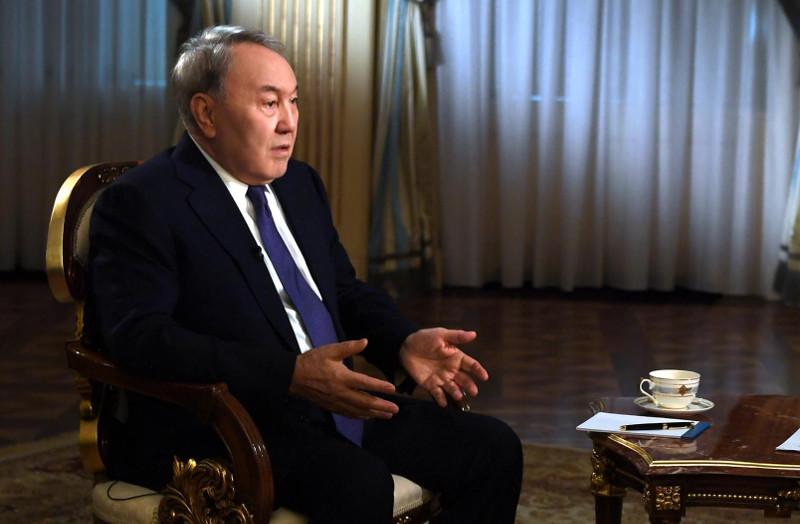 纳扎尔巴耶夫关于新丝绸之路:各国互信将不断稳固