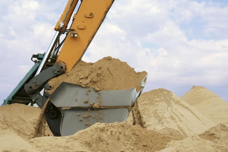 применение строительного песка