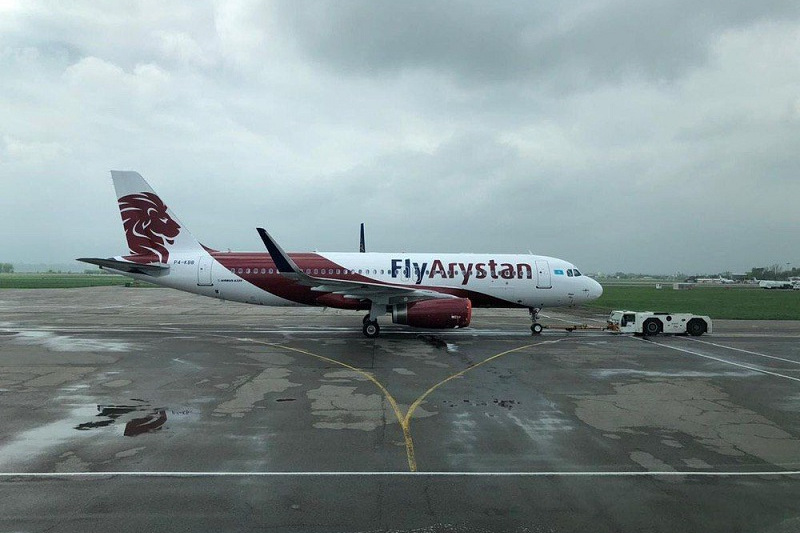 哈萨克斯坦飞狮航空公司有意开通国际航线