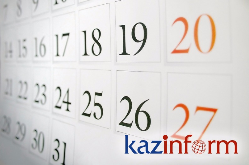 April 26. Kazinform's timeline of major events
